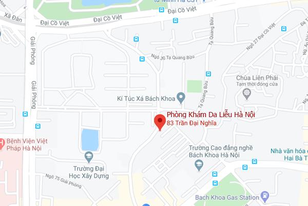 Phòng Khám Da Liễu Hà Nội - 83 Trần Đại Nghĩa, Hai Bà Trưng, Hà Nội
