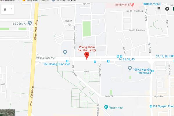 Địa chỉ Phòng khám da liễu Hà Nội