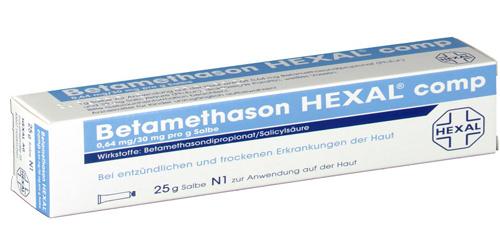 Betamethason HEXAL 25g