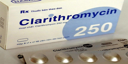 Clarithromycin-250mg-Tablets