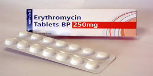 Erythromycin Rabets BP 250mg