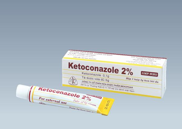 Ketoconazole kem bôi ngoài da