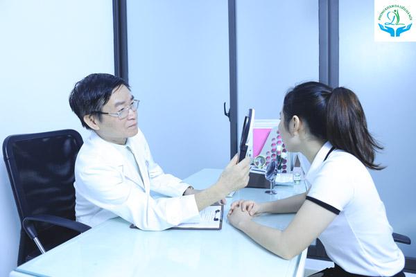 Đến khám bác sĩ khi bạn bị mụn
