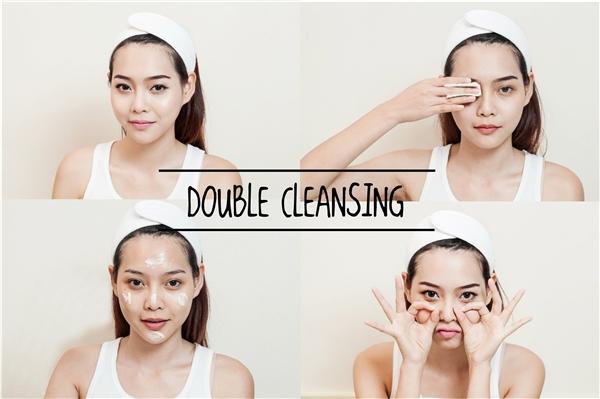 Cách rửa mặt của phụ nữ Hàn Quốc