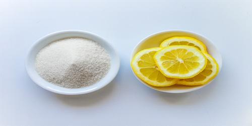 Tẩy lông chân bằng hỗn hợp chanh đường