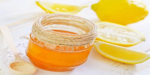 Tẩy lông chân bằng hỗn hợp chanh mật ong