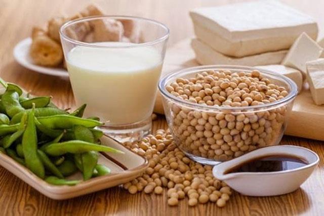 Đậu tương và các sản phẩm từ đậu tương hỗ trợ điều trị nám
