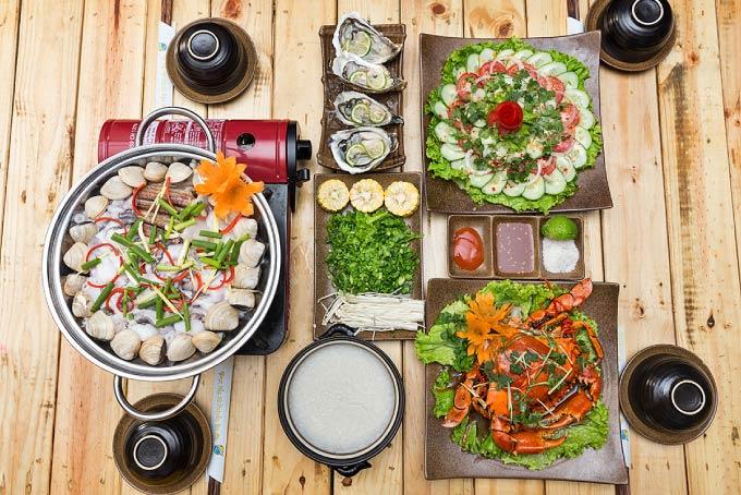 Hạn chế ăn hải sản khi bị tàn nhang