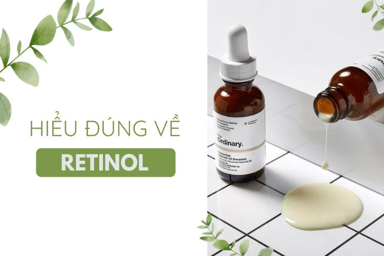 Sử dụng Retinol đúng cách sẽ mang lại làn da đẹp.