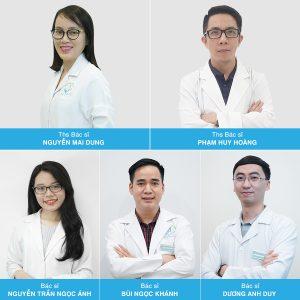 Đội ngũ Bác sĩ tại Phòng khám da liễu Hà Nội luôn sẵn sàng giúp bạn