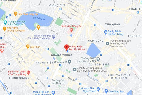 Phòng khám da liễu Hà Nội - 100 Tây Sơn